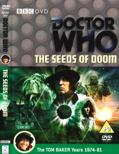 Region 2 DVD cover for The Seeds of Doom