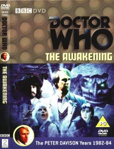 Region 2 DVD cover for The Awakening
