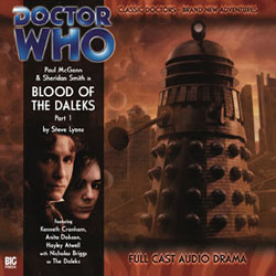 Blood of the Daleks episode 1 CD cover
