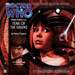 Fear of the Daleks CD cover