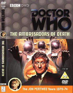 Region 2 DVD cover for The Ambassadors of Death