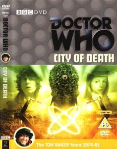 City of Death Region 2 DVD Cover
