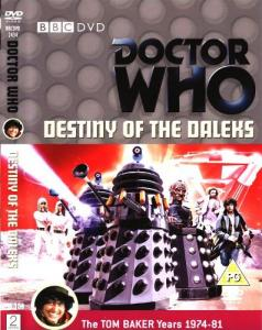 Destiny of the Daleks Region 2 DVD Cover