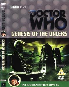 Genesis of the Daleks Region 2 DVD Cover