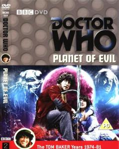 Planet of Evil Region 2 DVD Cover