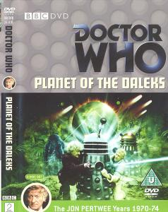 Planet of the Daleks Region 2 DVD Cover