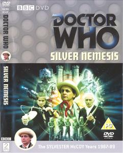 Silver Nemesis Region 2 DVD Cover