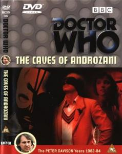The Caves of Androzani Region 2 DVD Cover