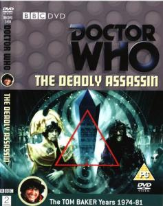 The Deadly Assassin Region 2 DVD Cover