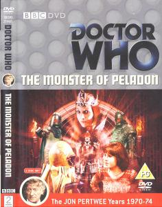 The Monster of Peladon Region 2 DVD Cover