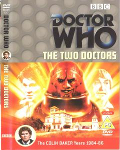 The Two Doctors Region 2 DVD Cover
