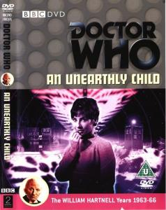 An Unearthly Child Region 2 DVD Cover