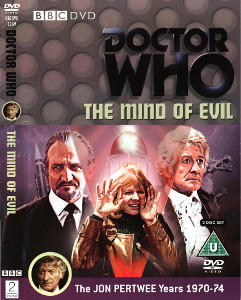 Region 2 DVD cover for The Mind of Evil