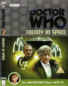 Region 2 DVD cover for Colony in Space