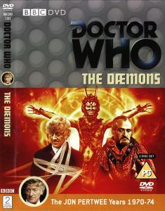 Region 2 DVD cover for The Daemons