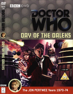 Region 2 DVD cover for Day of the Daleks