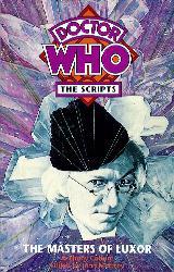 The Masters of Luxor script book cover