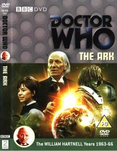 Region 2 DVD cover for The Ark