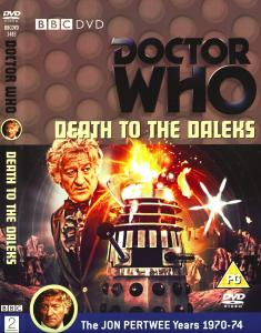 Region 2 DVD cover for Death to the Daleks