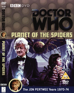 Region 2 DVD cover for Planet of the Spiders