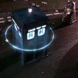 A Dalek and a TARDIS