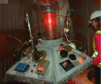 A control relay room