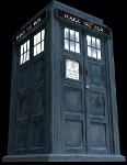 The exterior of the Doctor's TARDIS
