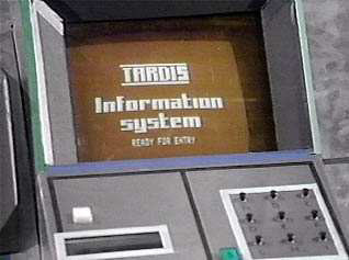 TARDIS Information System interface