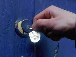 TARDIS lock