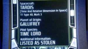 Details of a TARDIS's type and mark