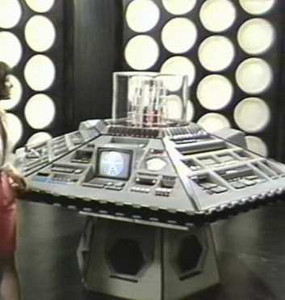 Interior of the Master's TARDIS