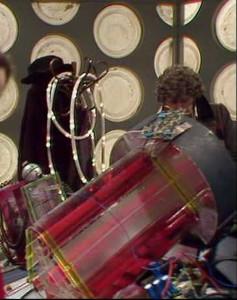 The Doctor refitting his TARDIS