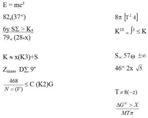 Some of the core time-travel equations