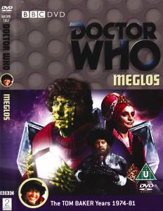 Region 2 DVD cover for Meglos