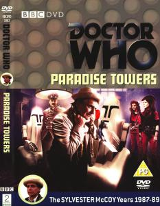 Region 2 DVD cover for Paradise Towers