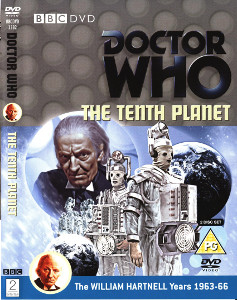 Region 2 DVD cover for The Tenth Planet