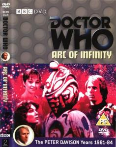 Arc of Infinity Region 2 DVD Cover