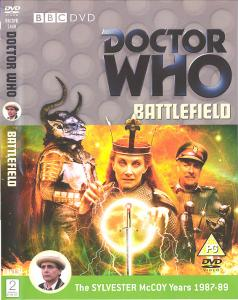 Battlefield Region 2 DVD Cover