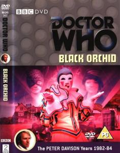 Black Orchid Region 2 DVD Cover