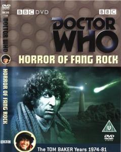 Horror of Fang Rock Region 2 DVD Cover