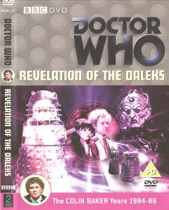 Revelation of the Daleks Region 2 DVD Cover