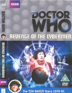 Revenge of the Cybermen Region 2 DVD Cover