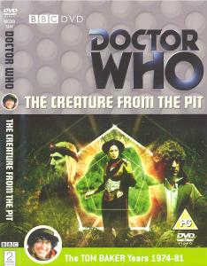 The Creature from the Pit Region 2 DVD Cover