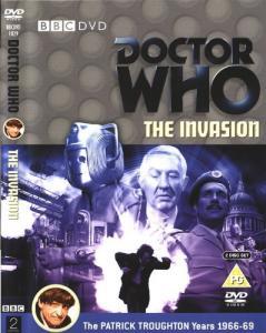 The Invasion Region 2 DVD Cover