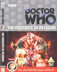 The Monster of Peladon Region 2 DVD Cover