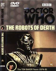 The Robots of Death Region 2 DVD Cover