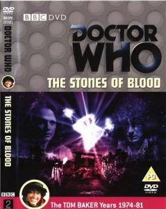 The Stones of Blood Region 2 DVD Cover