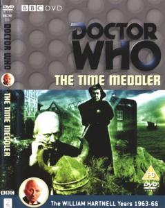 The Time Meddler Region 2 DVD Cover