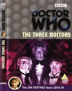 The Three Doctors Region 2 DVD Cover