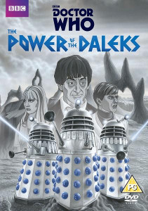 The Power of the Daleks Region 2 DVD Cover